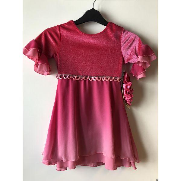 Magnolia Dress Fire Pink