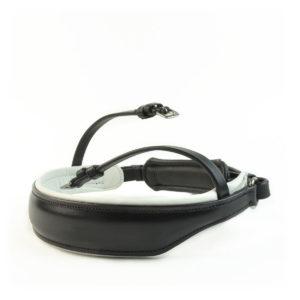S1 Kandar vanlig svart med hvit padding