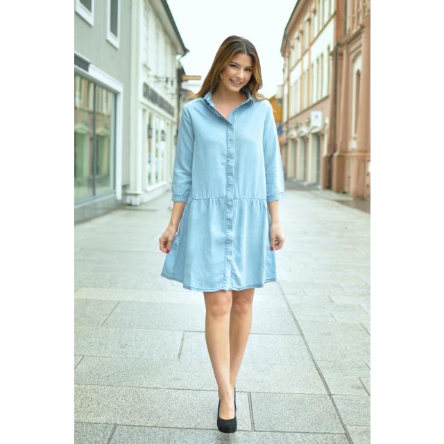 NILE DRESS - LIGHT BLUE
