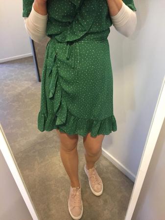 Renata Flounce Dress
