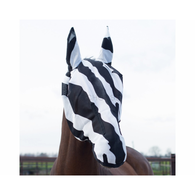 Bucas Buzz off full mask zebra