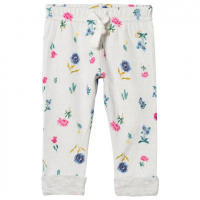 Pantalon med blomster