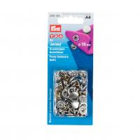 Trykknapp sølvfarget 10 mm refil