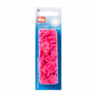Plast trykknapp rosa