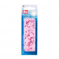 Plast trykknapp lys rosa