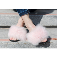 Dark FOX SLIPPERS