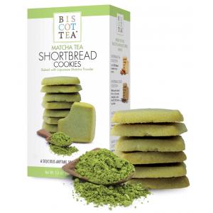 Shortbread Matcha Tea