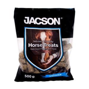 Jacson hestegodt- Lakris, gulerot, eple og banan smak