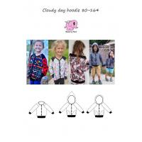Cloudy Day Hoodie barn str 80-164
