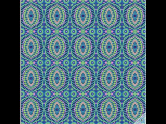 Dusk Temple Tiles fra Free Spirit