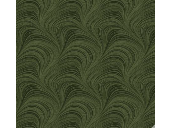 Dark Green Wave Texture