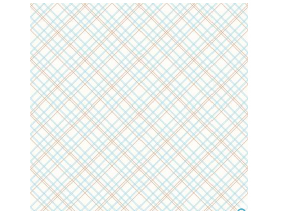 Backings Plaid Aqua
