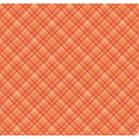 Backings Plaid Orange