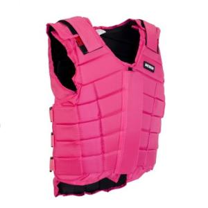 Jacson Sikkerhetsvest Junior- Svart og rosa