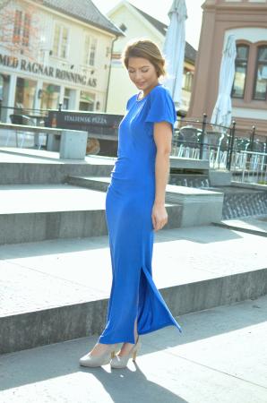 Helen Pleat Dress