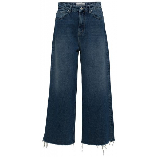 Carry Cropped Wide Jeans
