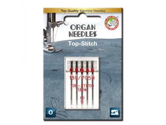 Top-stitch nål