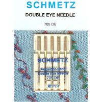 Schmetz dobbelt øyet