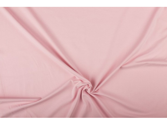 Bomullsjersey lys rosa