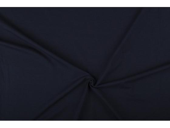 Bomullsjersey  mørk blå