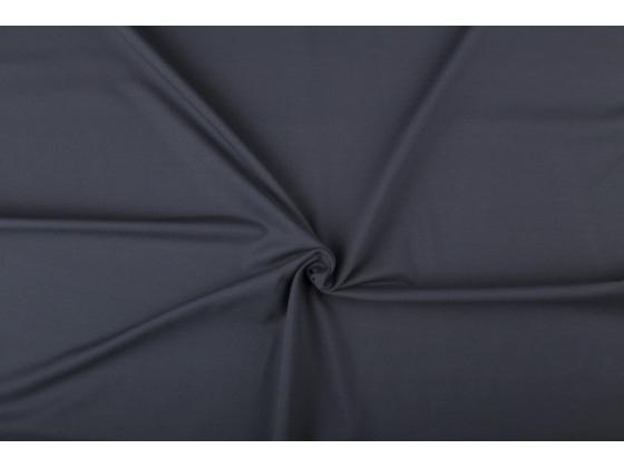 Bomullsjersey  mørk grå