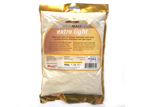 Spraymalt Extra Light 500g - Muntons