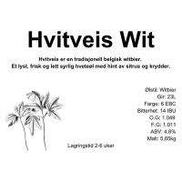 Maltsett - Hvitveis Wit 23L