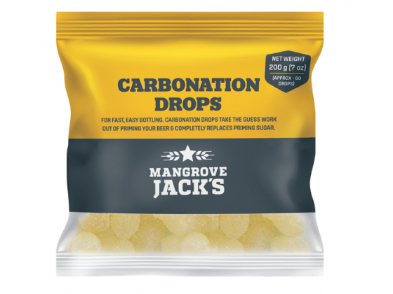 Mangrove Jack's Carbonation Drops 200g (approx 60)