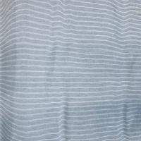Stripet blått og hvitt