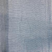 Lys jenasblått tynt bomullstoff
