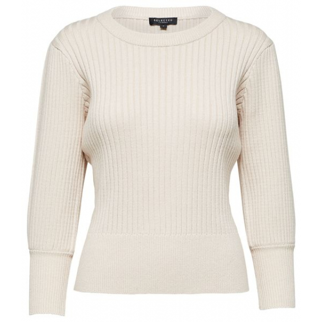 Pinna 3/4 Knit O-Neck