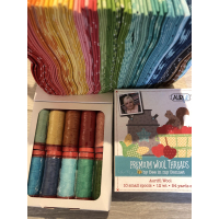 Aurifil wool threads