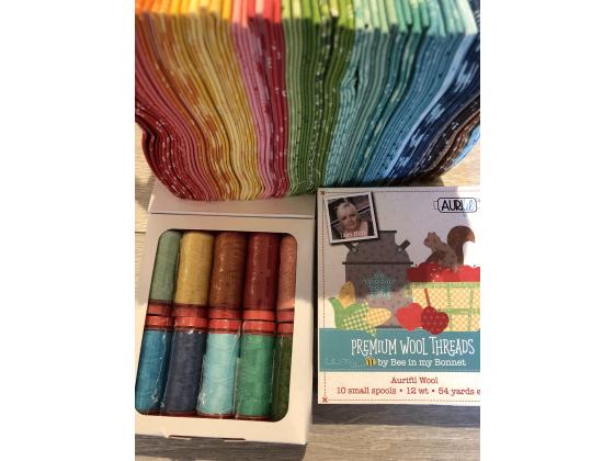 Aurifil wool threads