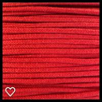 Anorakksnor rød  3 mm