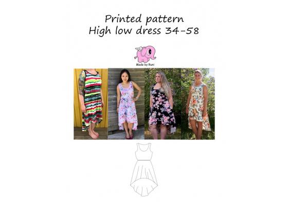 High low dress 34-58
