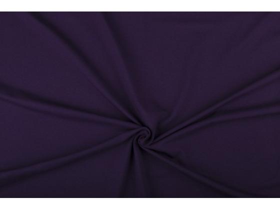 Bomullsjersey  mørk lilla /045