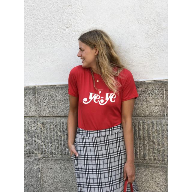 YE YE TEE -RED