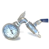 Kransett med Bazooka filter og termometer 1/2