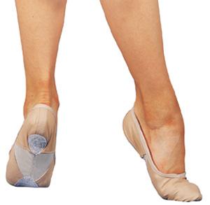 Sansha split sole, Skinn