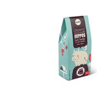 Dreamy Chocolate Hippos