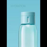 Dot vannflaske blå