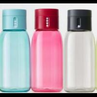 Dot vannflaske grå