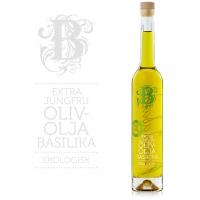 Olivenolje m/ Basilikum Øko.