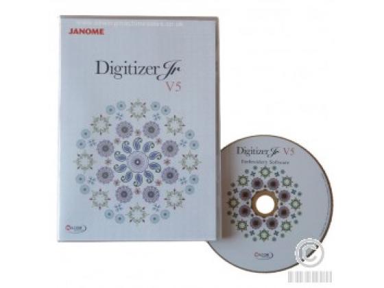 Oppgradering til Digitizer Jr. v5 fra Jr. v3-4.5