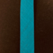 Kantbånd 40/20 mm  lin look sjøgrønn/turkis