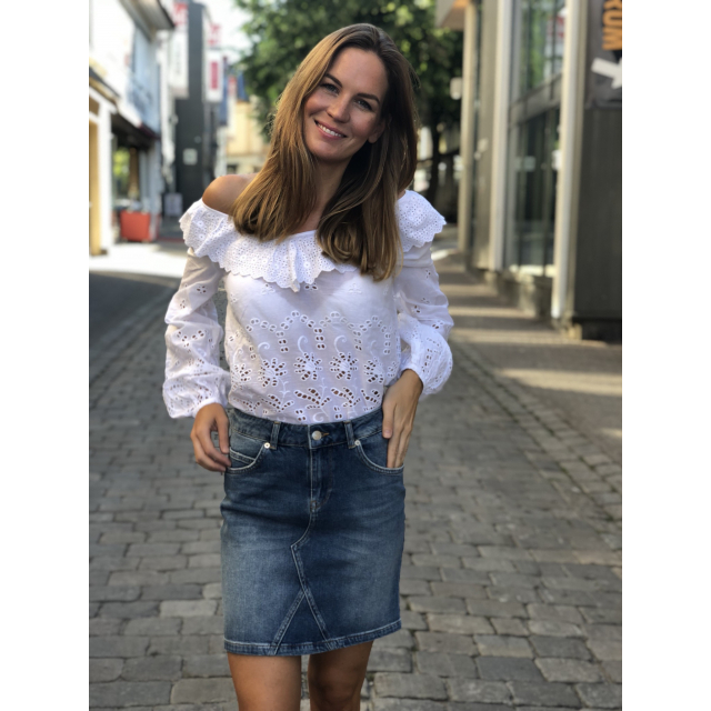 Broderie Anglasie Blouse