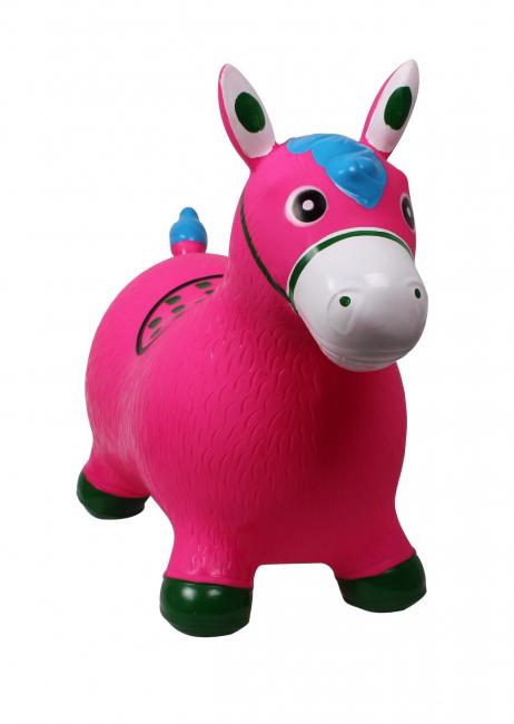 Jumpy Horse- blå og rosa