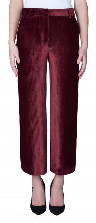 Eloise Crop Pants Cordovan Corduroy
