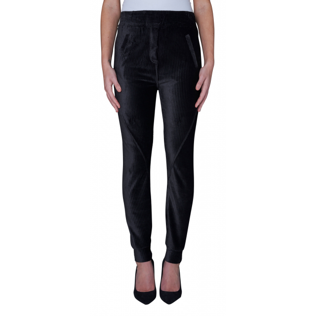 Miley Pants Black Corduroy