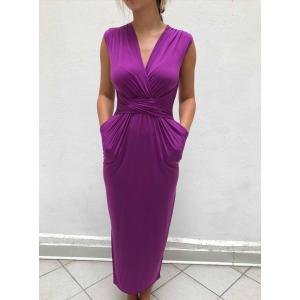 Giuliana kjole lang lilla
